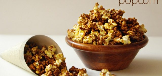 Gingerbread Popcorn from Tauni at SNAP {Christmas Tradition Series}