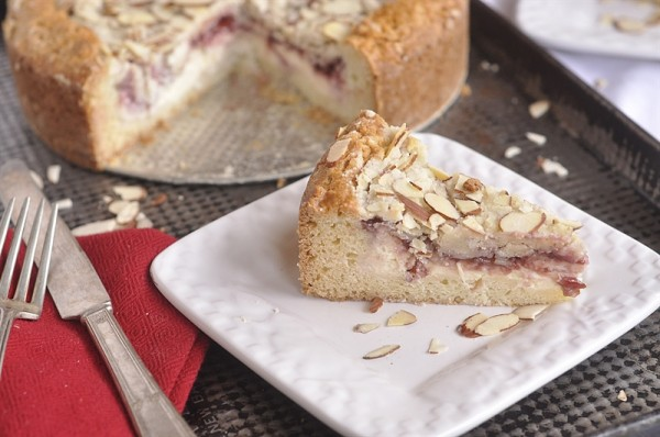 Raspberry Cream Cheese Coffee Cake {Christmas Tradition Series}