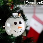 Handcrafted Christmas Tree Ornaments {Christmas Traditions Series}