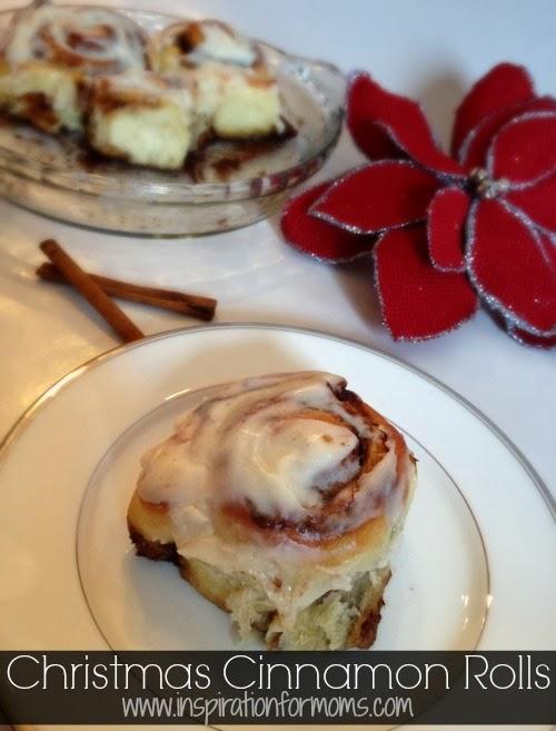 christmas cinnamon rolls cover