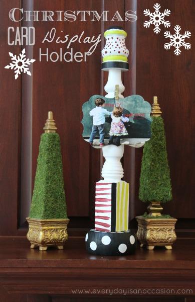 Christmas Card Display {Christmas Tradition Series}