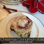Christmas Cinnamon Rolls {Christmas Traditions Series}