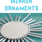 Sunburst Mirror Ornaments