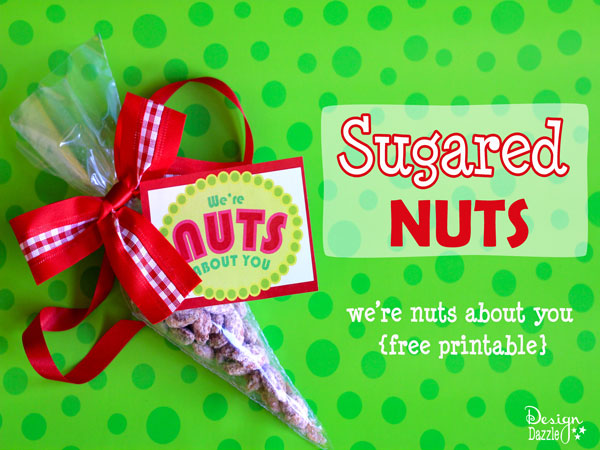 Sugared Nuts from Design Dazzle {Christmas Tradition Series}