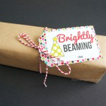 Brightly Beaming Gift Tags
