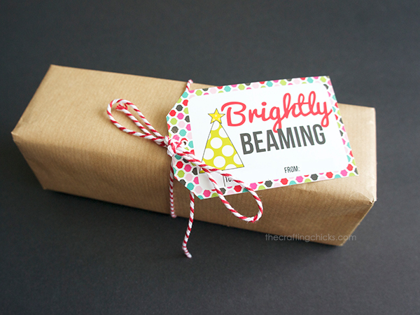 Brightly Beaming Gift Tag