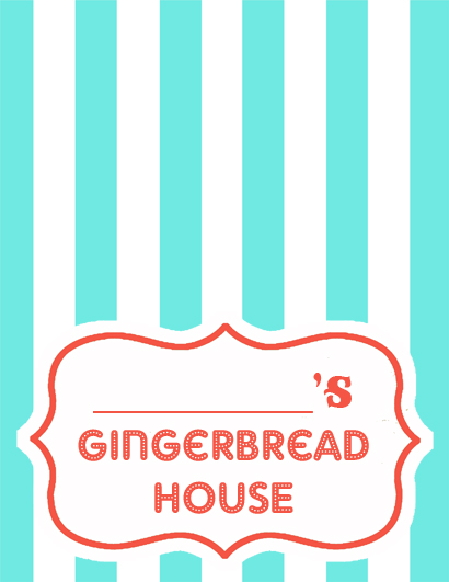 gingerbread house tag copy