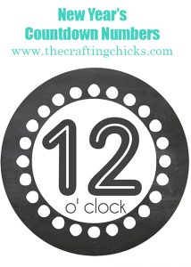 sm countdown number header