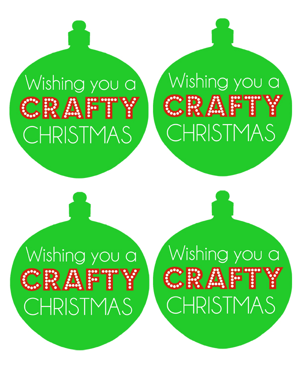 sm crafty christmas tag
