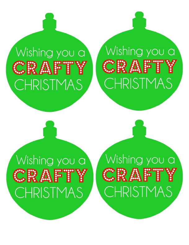 sm crafty christmas tag