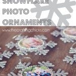 Snowflake Photo Ornaments