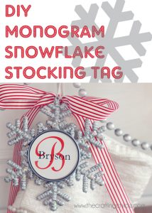 sm stocking tag holder