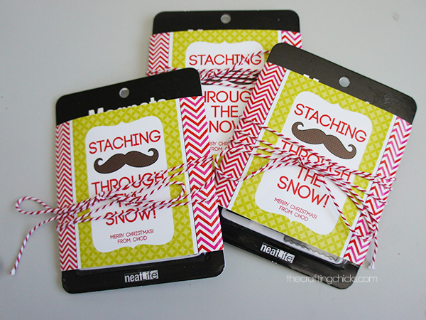 Staching Through the Snow Free Printable