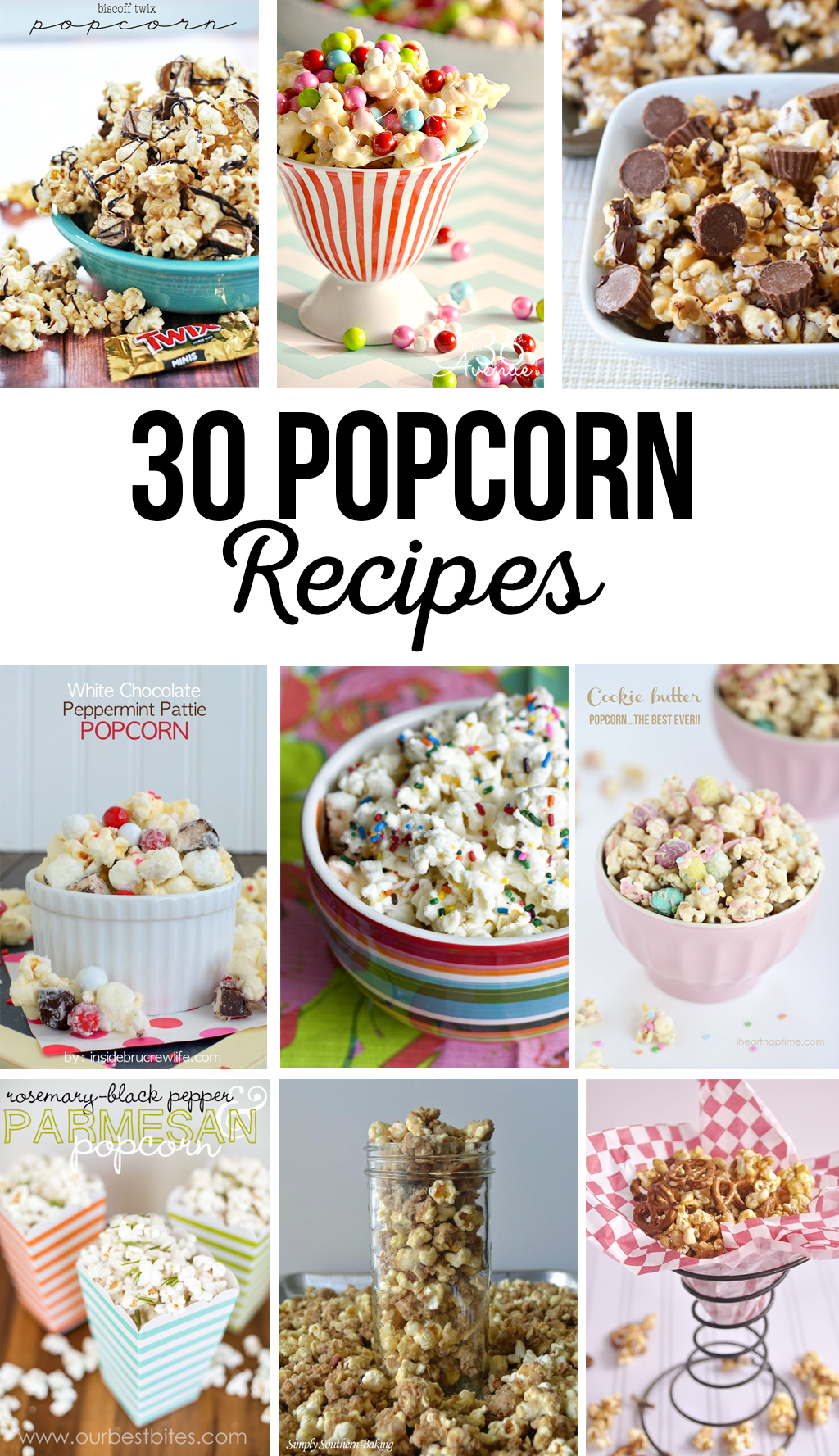 30 Popcorn Recipes