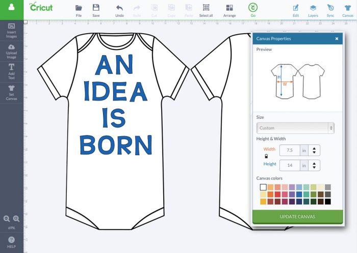 An Idea Is Born Canvas