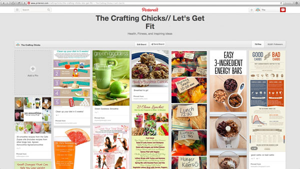 Pinterest-Health-and-Fitness-board