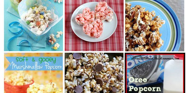 30 YUMMY Popcorn Recipes