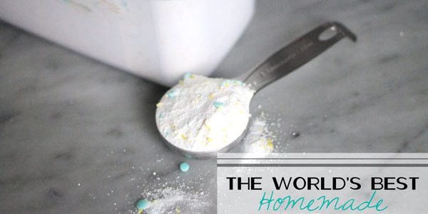 The World's Best Homemade Laundry Soap
