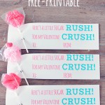Sugar Rush for my Valentine Crush *Free Printable
