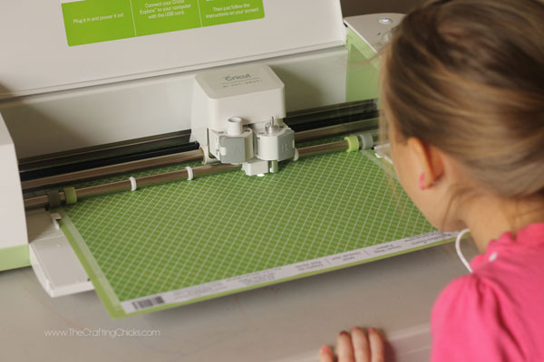 how to cute a Clover on a Cricut Explore