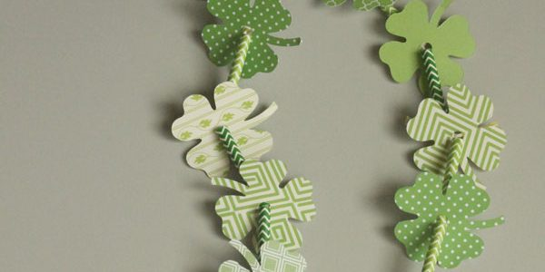 St. Patrick's 4-Leaf Clover Necklace