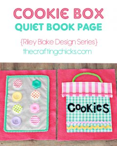 cookie box quiet page header