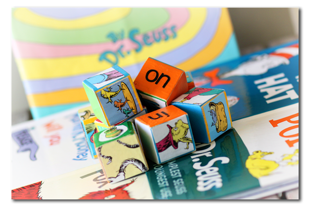 dr seuss activity blocks
