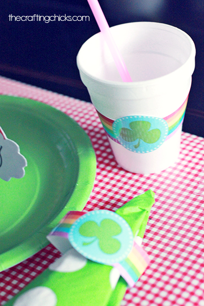 St. Patrick's Day Lunch Printables