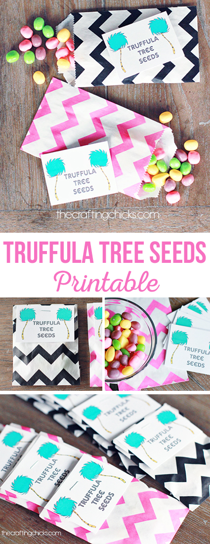 Truffula Tree Seed Printable