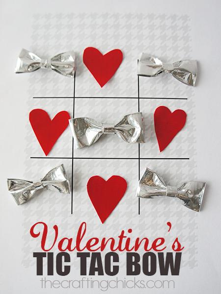 Valentine's Tic Tac Bow