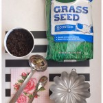 Potted Grass from Pink Parlor Designs {Spring Fever Series}
