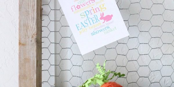 Spring Garland from Lolly Jane {Spring Fever Series}