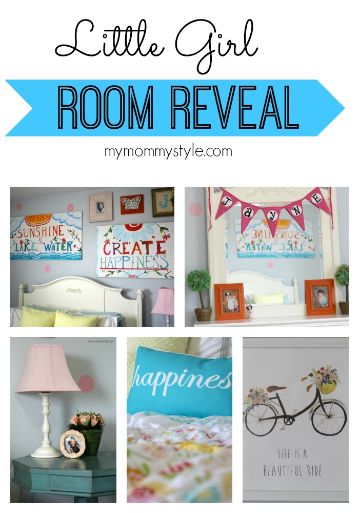 Little Girl Room Reveal from My Mommy Style {Spring Fever Series}