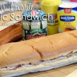 Perfect Picnic Sandwich from Or So She Says {Spring Fever Series}