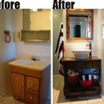 Bathroom Renovation: Custom Vanity