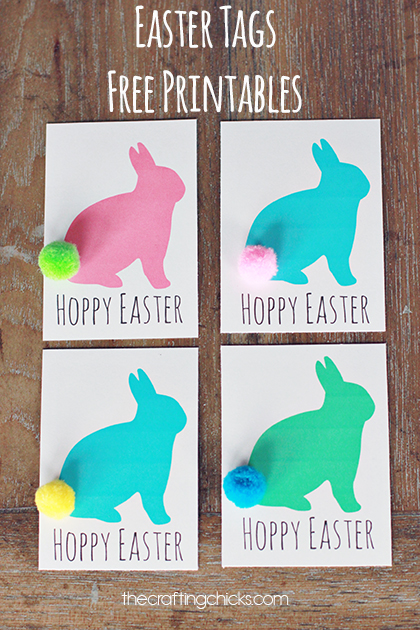 Easter gift tags free printable the crafting chicks sm easter tags 1 negle