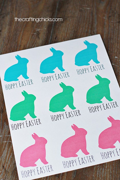 Easter gift tags free printable the crafting chicks sm easter tags 4 negle Images