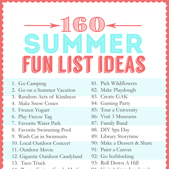 Picture Ideas For Summer