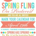 {Spring Fling on PINTEREST} HUGE GIVEAWAY