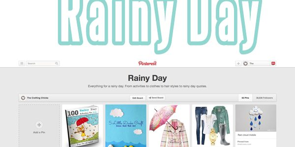 Rainy Day Pinboard