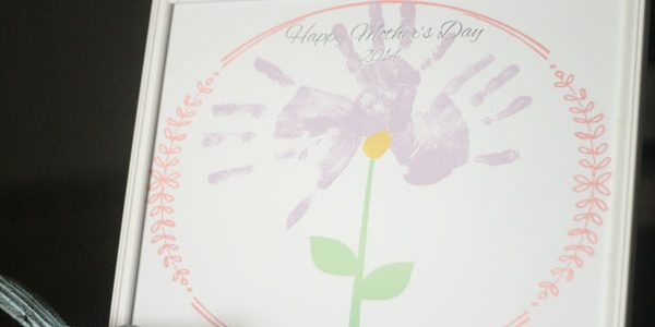 Mother's Day Handprint Flower 2014