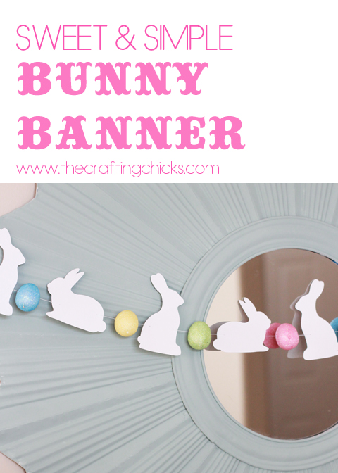 Sweet & Simple Bunny Banner