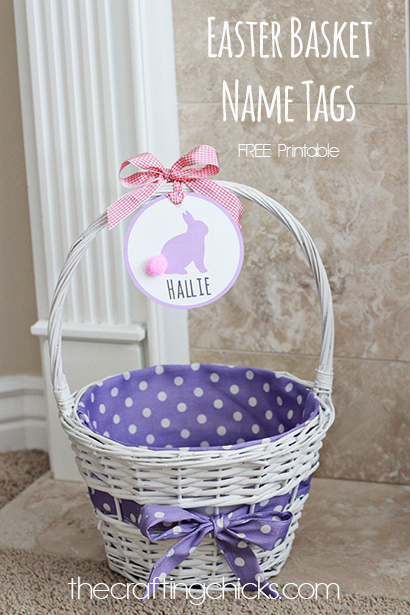 graphic relating to Easter Basket Printable named Easter Basket Popularity Tags - The Writing Chicks