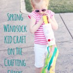 Spring Windsock Kid Craft