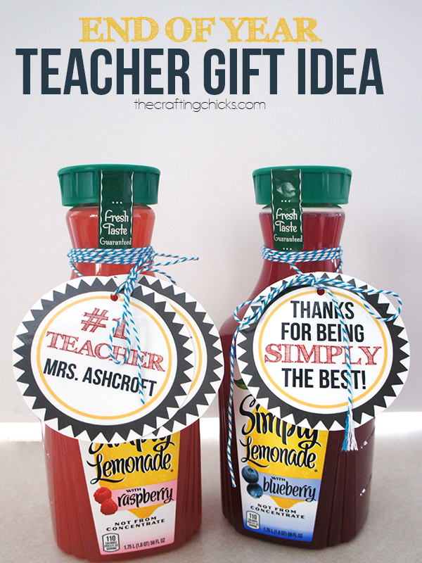 Simply the Best Teacher Gift
