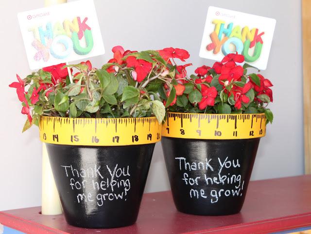 Thanks for Helping Me Grow Teacher Gift Idea