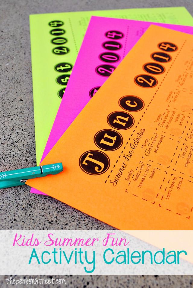 Kids-Summer-Fun-Activity-Calendar-2014-at-thebensonstreet.com_