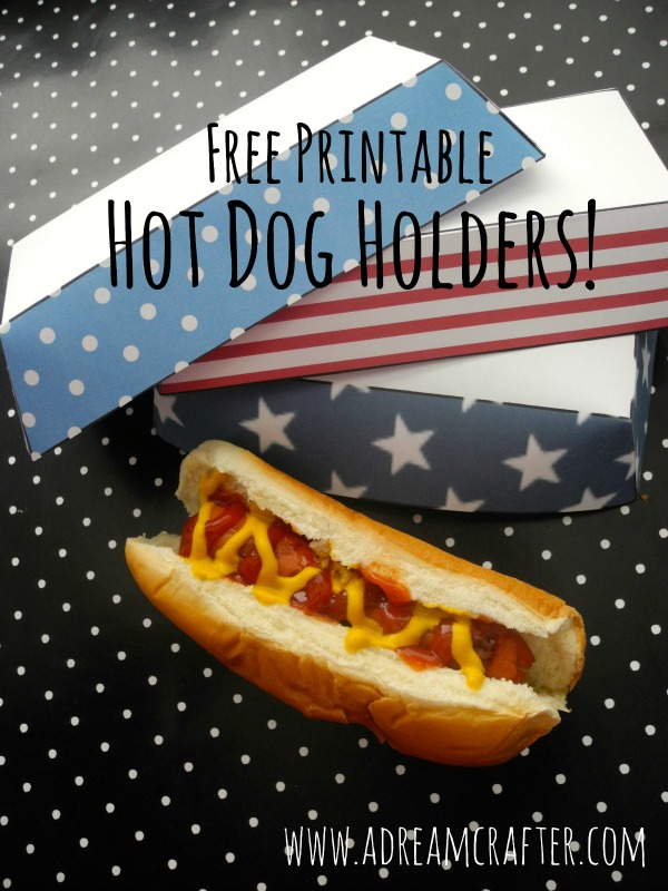 PIC 1 Hot dog holder