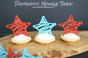 Patriotic Mousse Tart
