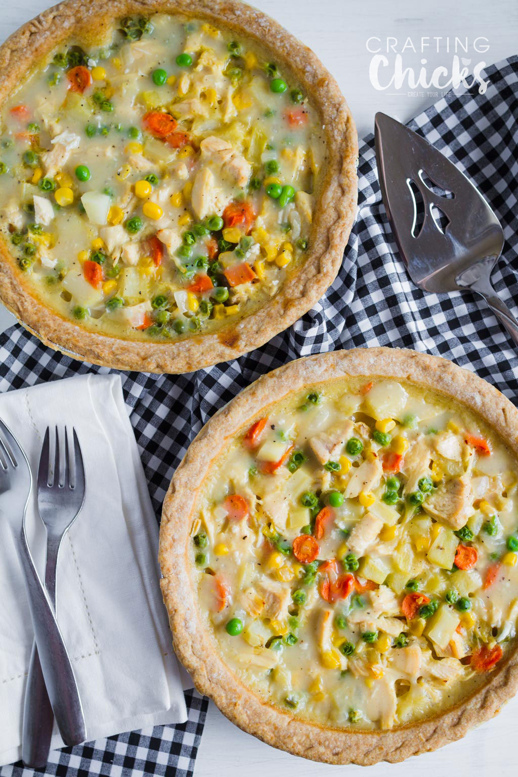 Topless Chicken Pot Pie